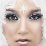 makijaż a'la królowa śniegu